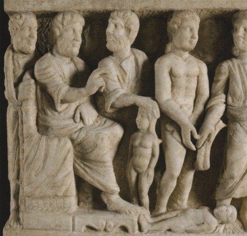 Dogmatic Sarcophagus, саркофаг Троицы, 340 год
