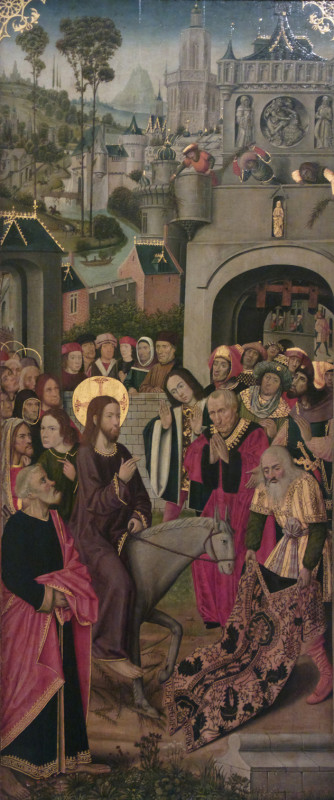 Мастер Тюизонского алтаря, Въезд Христа в Иерусалим, XV век