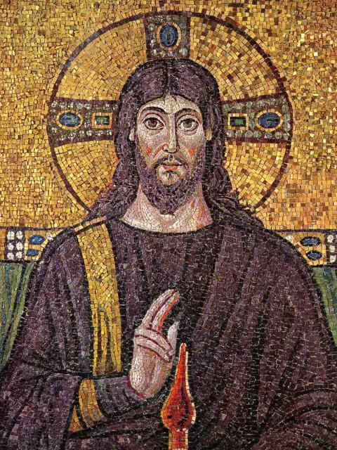 Фрагмент мозаики, VI век, Сант-Аполлинаре-Нуово, Равенна